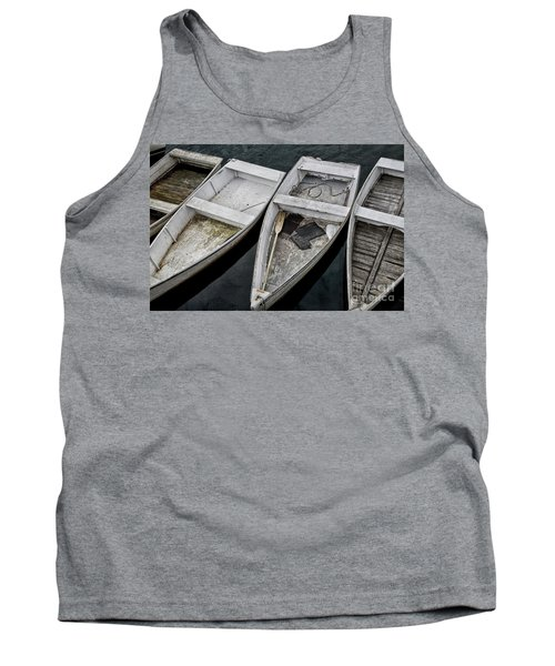 White Boats Tank Top