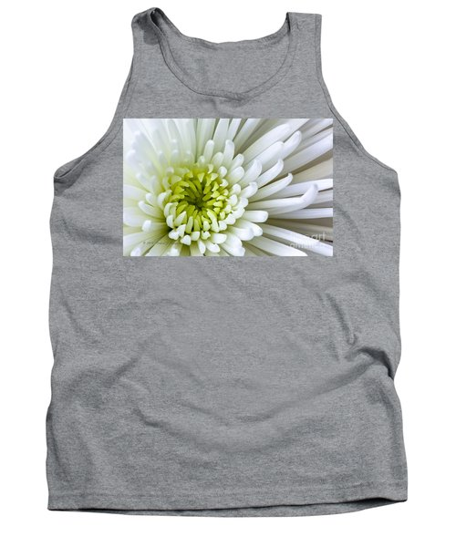 White Chrysanthemum Tank Top