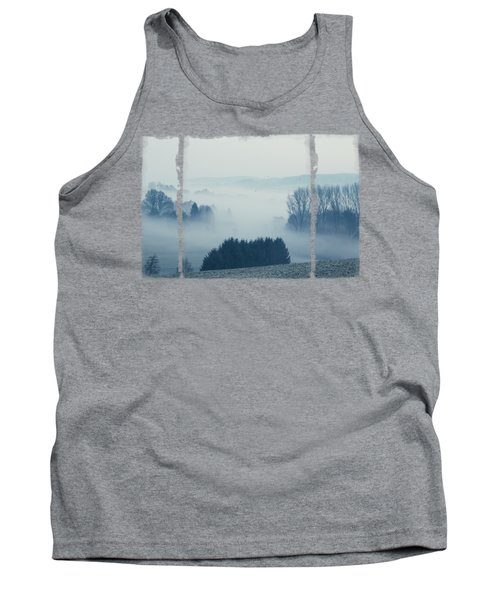 White Cover - Misty Fields Tank Top