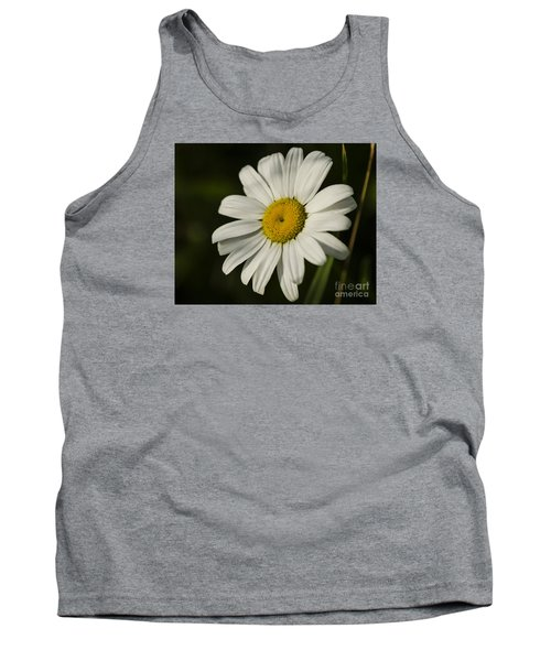 Tank Top featuring the photograph White Daisy Flower by JT Lewis