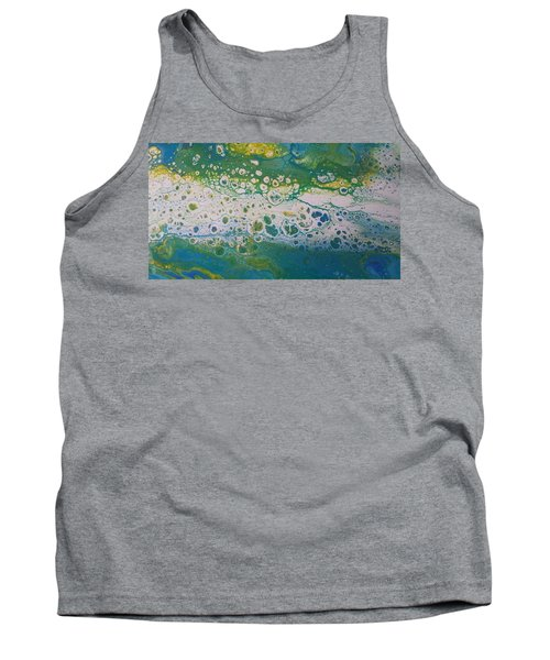 White Flow Tank Top