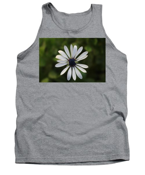 White Flower Tank Top