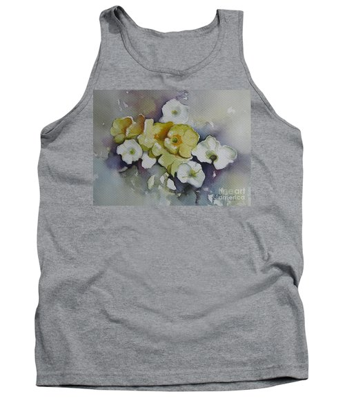 White Flowers, Yellow Flowers... Tank Top