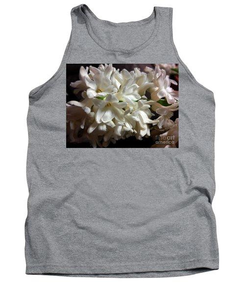White Hyacinth Tank Top