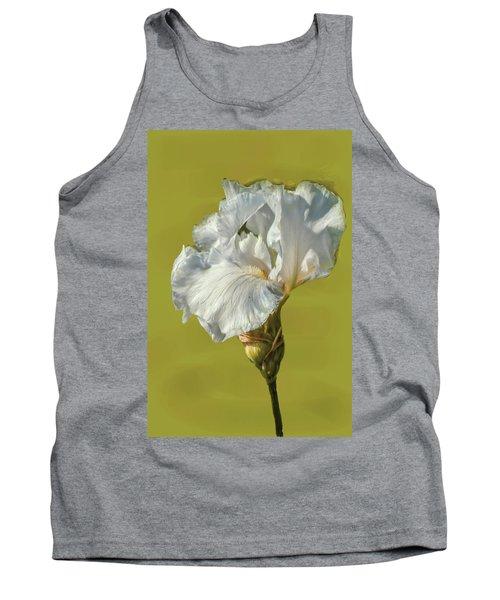White Iris June 2016 Artistic.  Tank Top