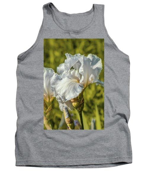 White Iris June 2016.  Tank Top