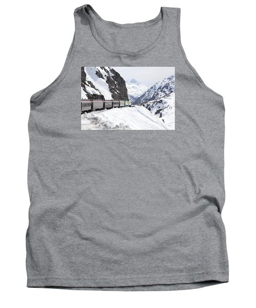 White Journey Tank Top