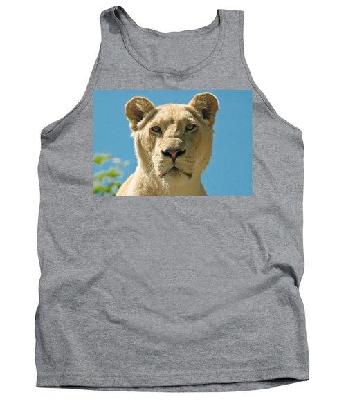 White Lion Tank Top