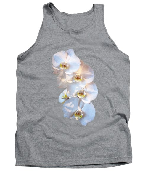 White Orchid Cutout Tank Top