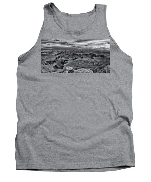White Rim Overlook Monochrome Tank Top