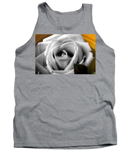 White Rose 2 Tank Top