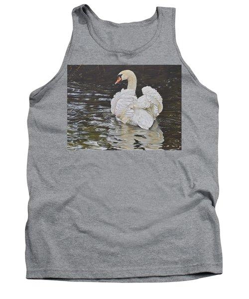 White Swan Tank Top