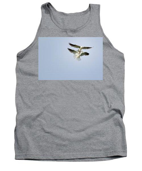 White-tailed Kites Food Exchange Tank Top