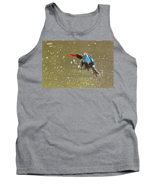 White-throated Kingfisher Tank Top