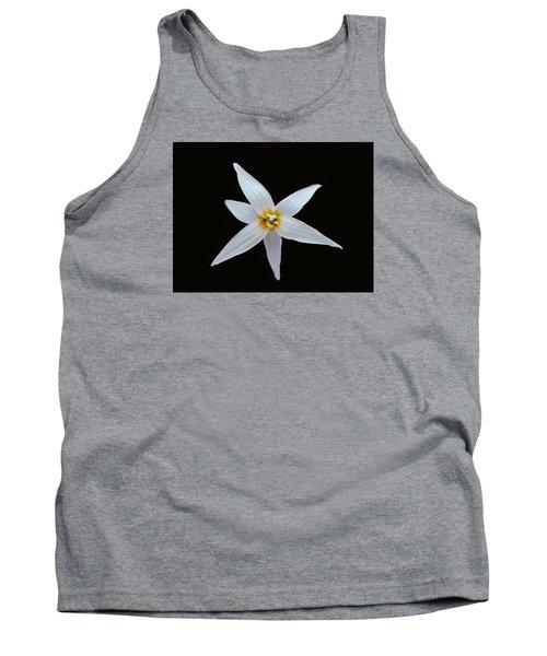 White Trout Lily Tank Top