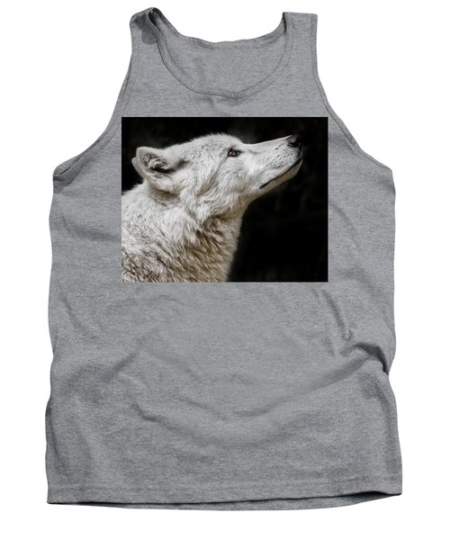 White Wolf Tank Top