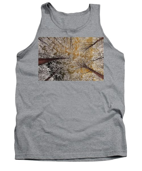 Tank Top featuring the photograph Whiteout by Tony Beck
