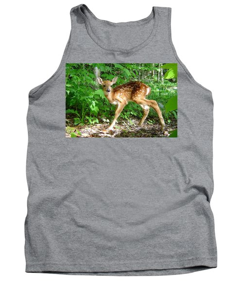 Whitetail Fawn Tank Top