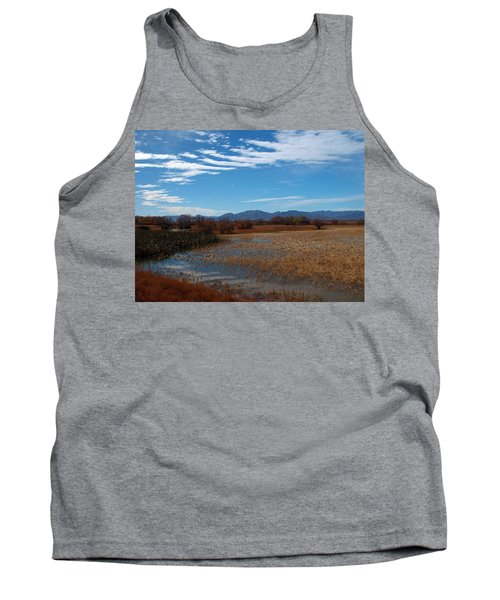 Tank Top featuring the photograph Whitewater Draw by James Peterson