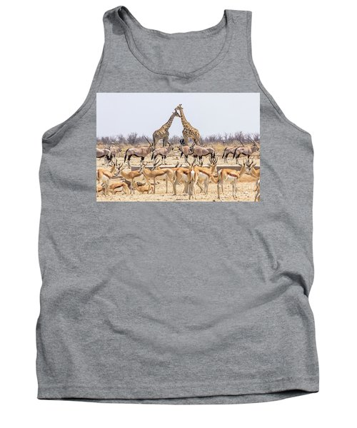 Wild Animals Pyramid Tank Top