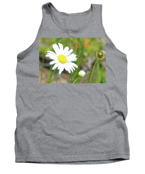 Wild Daisy With Visitor Tank Top