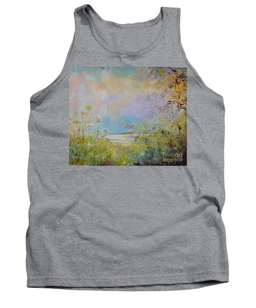 Wild Grasses Of Saugatuck Tank Top