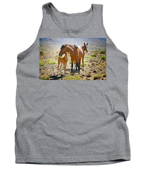 Wild Horse Family Tank Top