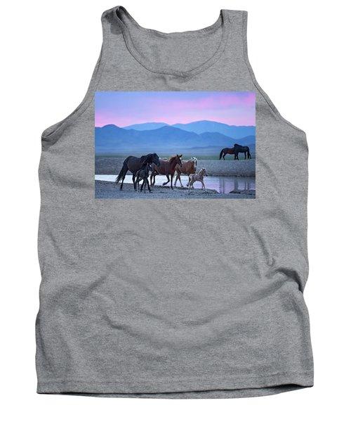 Wild Horse Sunrise Tank Top