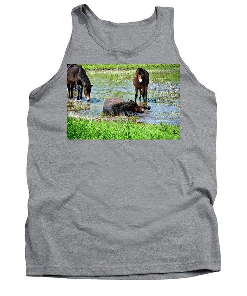 Wild Horses 3 Tank Top