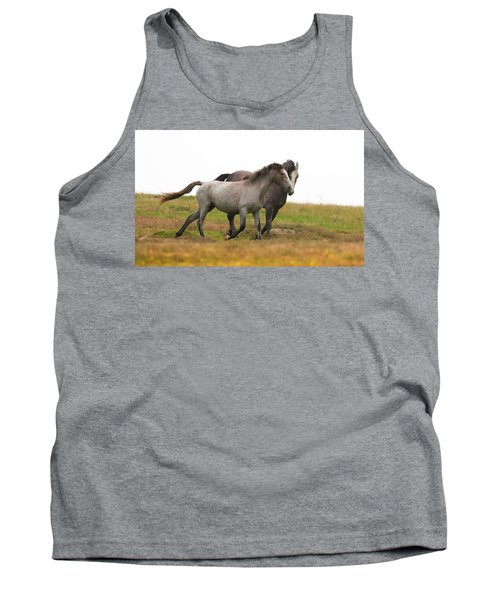 Wild Horses Tank Top by Kelly Marquardt