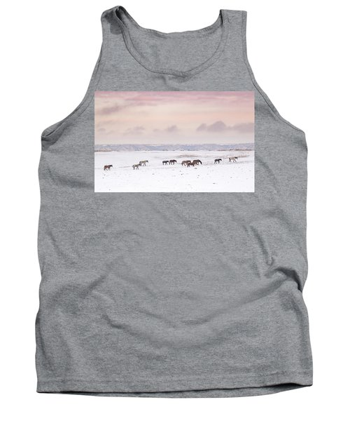 Wild Horses Out West Tank Top
