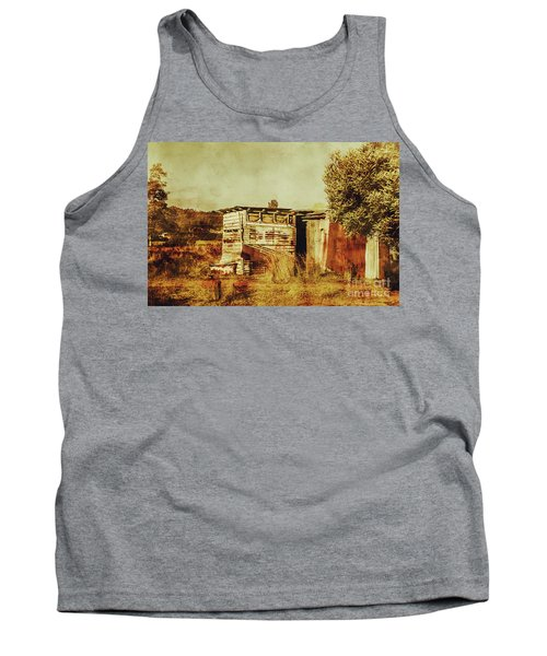 Wild West Australian Barn Tank Top