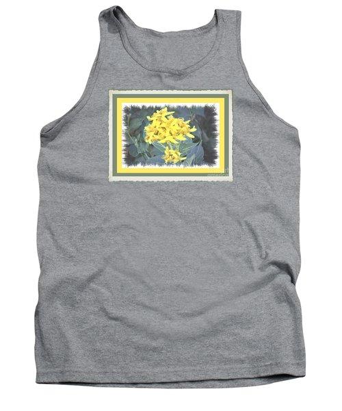 Wild Yellow Weed Tank Top