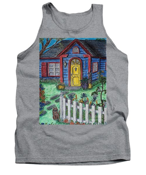 Wildflower Cottage Tank Top