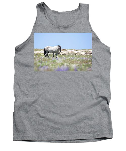 Wildflowers And Mustang Tank Top