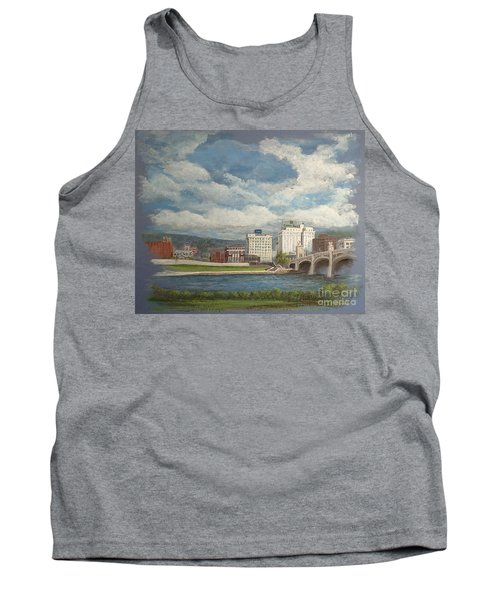 Wilkes-barre And River Tank Top