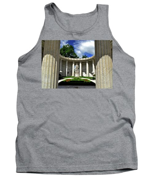 Tank Top featuring the photograph William Mckinley Memorial 002 by George Bostian