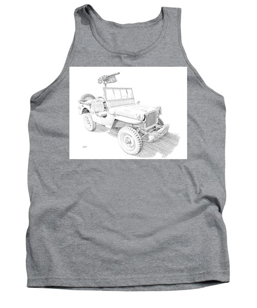 Willy In Ink Tank Top
