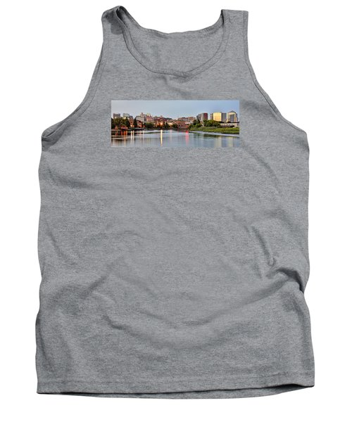 Wilmington Delaware At Dusk Tank Top by Brendan Reals
