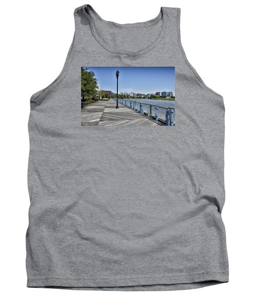 Wilmington Riverwalk - Delaware Tank Top by Brendan Reals