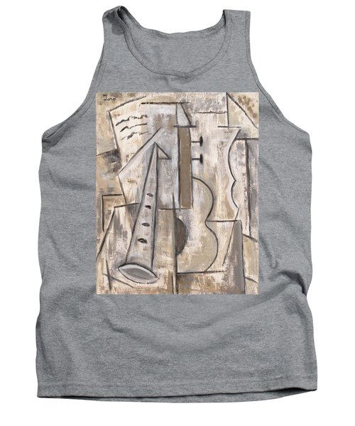 Wind And Strings Tank Top by Trish Toro