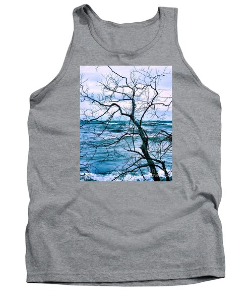 Tank Top featuring the photograph Wind Swept by Heather King