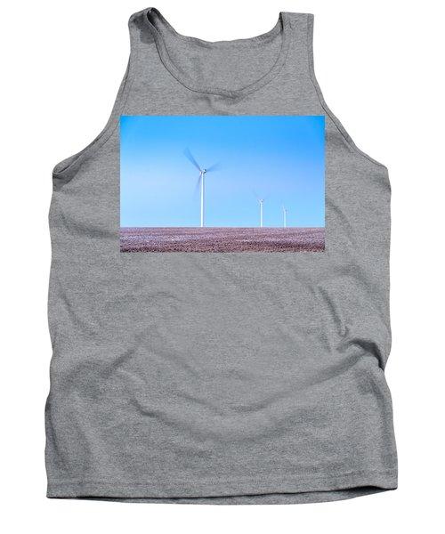 Wind Turbines Tank Top