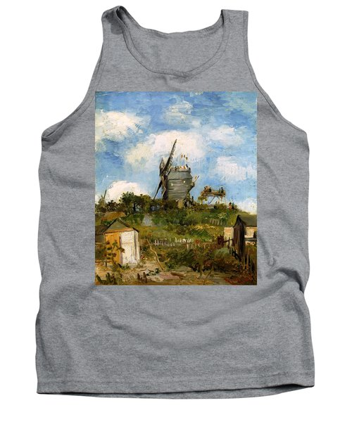 Windmill In Farm Tank Top