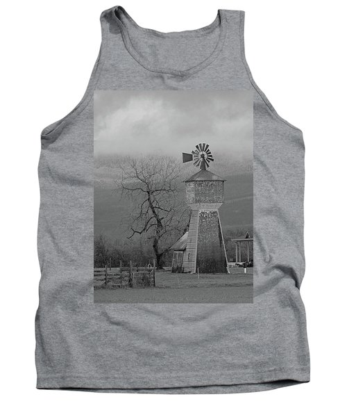 Tank Top featuring the photograph Windmill Of Old by Suzy Piatt