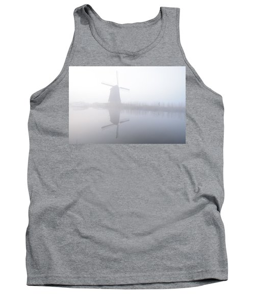 Windmill Reflection Tank Top by Phyllis Peterson