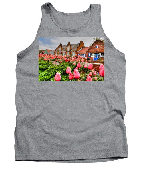 Tank Top featuring the photograph Windmill Villa by Robert Pearson