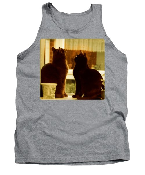 Window Cats Tank Top