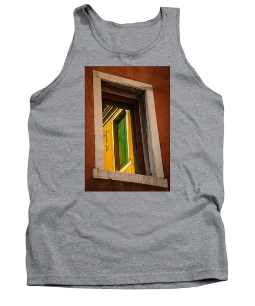 Tank Top featuring the photograph Window Window by Kathleen Scanlan