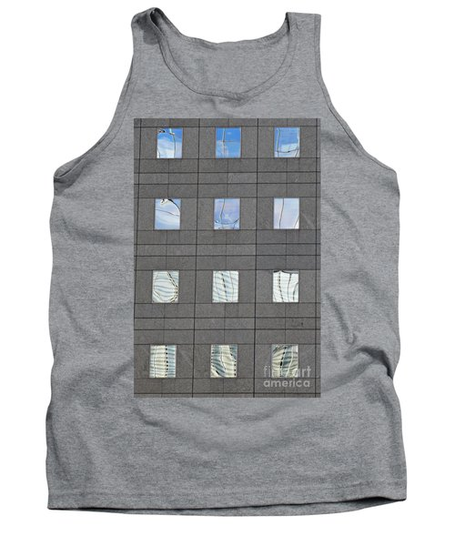 Tank Top featuring the photograph Windows Of 2 World Financial Center   by Sarah Loft